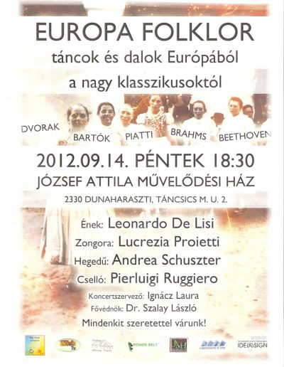Európa Folklór